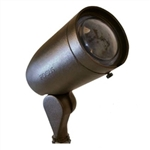 Focus Industries DL-20-NL-ACHID-WBR 120V 50W Max PAR20 HID Directional Cast Aluminum Floodlight with Angle Collar, Lamp not included, Weathered Brown Finish