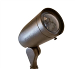 Focus Industries DL-20-NL-ECHID-WBR 120V 50W Max PAR20 HID Directional Cast Aluminum Floodlight with Extension Collar, Lamp not included, Weathered Brown Finish