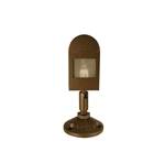 Focus Industries DL-41-XBP10-WBR 12V 10W G4 Bi-pin Xenon Mini Directional Floodlight with 360 degree Swivel, Weathered Brown Finish