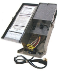 Focus Industries HV-600-SS 600 Watt Hardwired Transformer, Twin Circuit, Multi-Voltage Output Taps 12, 13, 14, 15, 16, 18 and 21V Output Finish