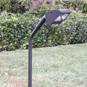 "Focus Industries PGL-02-WIR 12V Extruded Aluminum Putting Green Light with 25"" Extension, Weathered Iron Finish"