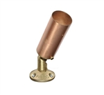 Focus Industries RXD-02-TS-CAR 12V 20W MR16 Halogen Tube Shield Bullet Directional Light, Copper Acid Rust Finish