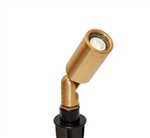 Focus Industries RXD-09-BRS 12V 20W MR16 Halogen Bullet Directional Light, Unfinished Brass