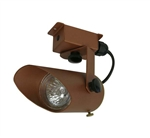 Focus Industries RXS-01-CAR 12V 20W MR16 Halogen, Surface Mount Bullet Directional Light, Copper Acid Rust Finish