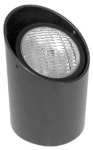 Focus Industries SL-01-SP 12V 36W PAR36 Well Light Angle Cut Aluminum Lamp Holder, Black Finish
