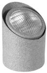 Focus Industries SL-01-SP7-WIR 12V 36W PAR36 Well Light Angle Cut Aluminum Lamp Holder, Weathered Iron Finish