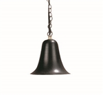 "Focus Industries SL-05-WMLED3BRT 3W OMNI LED, 4.5"" Spun Aluminum Wall Mount Bell, Weathered Brown Finish"
