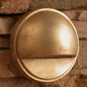 Focus Industries SL-07-BRT 12V Dome Surface Step Light, Bronze Texture Finish