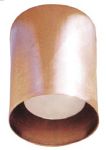 Focus Industries SL-10-ALR18-COP-CAV 12V 50W ALR18 Spun Copper Small Down Light, Copper Acid Verde Finish