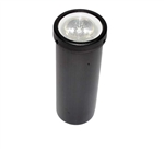 Focus Industries SL-21-CONVX-BLT 12V 20W MR16 Halogen Well Light with Convex Lens, Black Texture Finish