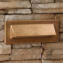 Focus Industries SL-31-BRT 12V Single Louver Brick Light, Bronze Texture Finish