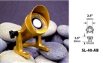 Focus Industries SL-40-AB-ULT 12V 20W Ultraline MR11 Halogen, Underwater Light with Aiming Bracket, Unfinished Brass