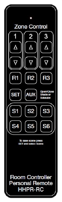 Greengate HHPR-RC Room Controller Personal Remote