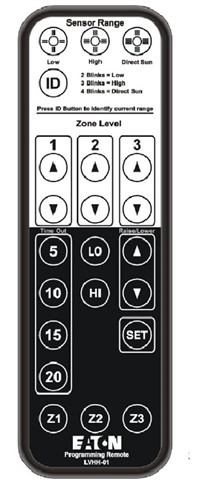 Greengate LVHH-01 DLVP Programming Remote