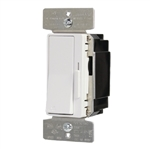Greengate WBSD-010DEC-C5 0-10V Decorator Dimmer Wallstation, 120/277 VAC, White, Ivory and Gray Faceplate Color Kit