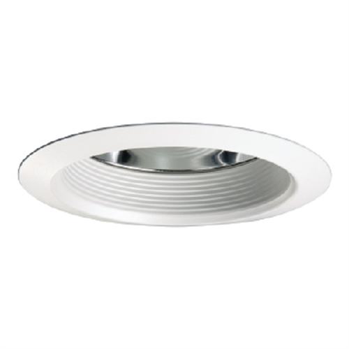 Halo Recessed 30wath 6 Air Tite Baffle Trim With Reflector White Trim White Baffle And Clear Reflector
