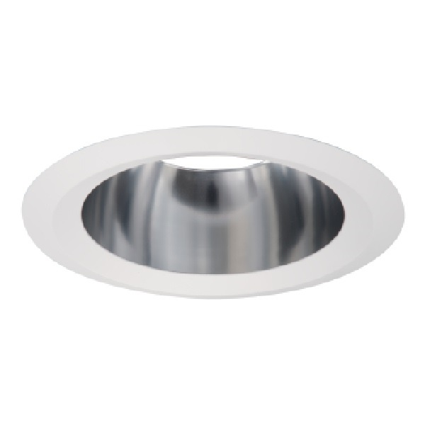 HALO Recessed 426H 6-Inch Trim with Haze Reflector Cone White