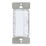 Halo Home HIWAC1BLE40ALA In-Wall Accessory Dimmer, Bluetooth Low Energy, Light Almond