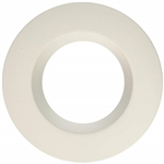 "Halo Recessed RL4TRMWH 4"" LED Downlight Trim for RL460WH Series, White"