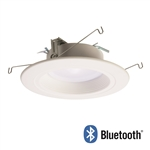 "Halo Recessed RL56069BLE40AWH 5"" and 6"" All Purpose LED Retrofit Module with Bluetooth Mesh Connectivity, 90 CRI, CCT Adjustable Range 2700K-5000K"