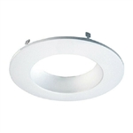 "Halo Recessed RL56TRMWHB 5"" and 6"" LED Downlight Baffle Trim for RL460WH Series, White"