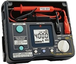 Hioki 3454-10 Digital Megohmmeter Insulation Tester up 500V with Hard-case in a body