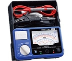 Hioki 3490 Analog Megohmmeter Three Range Insulation Tester up to 1000V with Hard-case in a body