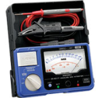 Hioki IR4017-20 Analog Megohmmeter Single Range Insulation Tester up to 500V, 1000 MOhm with Hard-case in a body