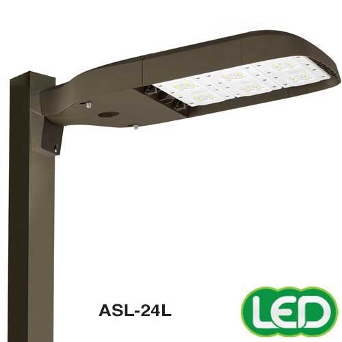 Hubbell Outdoor Lighting Asl 24l 3 181w Medium Size Area Light 16 Leds Type Iii Distribution