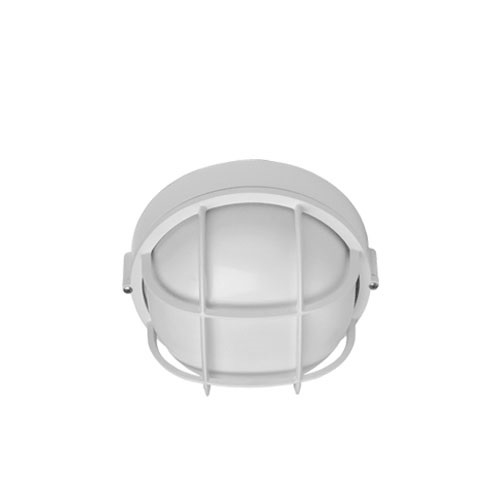 Hubbell outdoor lighting bri 04 100w euroluxe wall or ceiling mount hubbell outdoor lighting bri 04 100w euroluxe wall or ceiling mount decorative round incandescent wallpack white finish workwithnaturefo