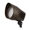 Hubbell Outdoor Lighting BUL-1L3K-U 21W Compact LED Floodlight, 120V-277V, 3000K