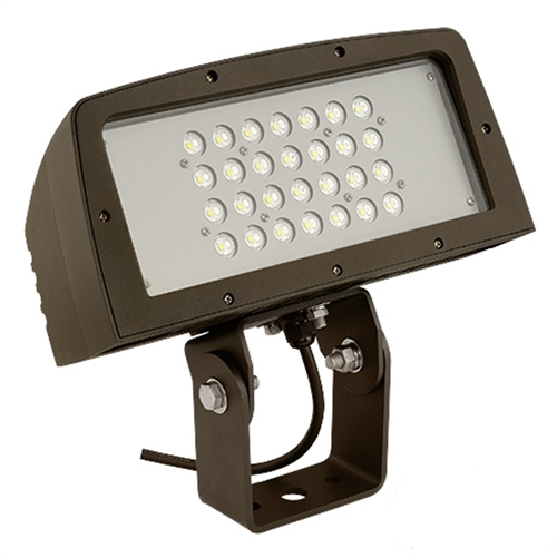 Hubbell outdoor lighting fll 28l 100w large architechtural led hubbell outdoor lighting fll 28l 100w large architechtural led floodlight yoke mount wide beam 120 277v aloadofball Image collections
