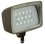 Hubbell Outdoor Lighting FML-14 53W Decorative Floodlight, 4285 Lumens, 5000K, 120-277V