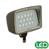 Hubbell Outdoor Lighting FML-14-PCU 53W Decorative Floodlight with Photocontrol, 4285 Lumens, 5000K, 120-277V