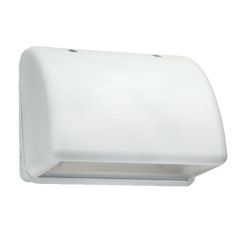 Hubbell Outdoor Lighting Nrg 1143 W 42w High Pressure Sodium Full Cutoff Compact Wallpack 120 277v 60 50hz White Finish