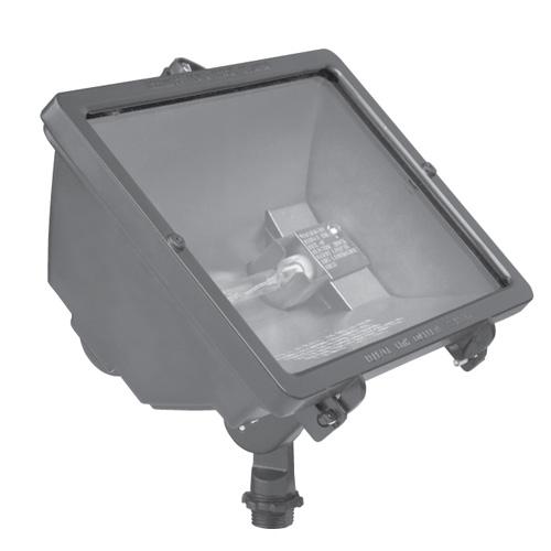 Hubbell Outdoor Lighting Q 500 B 500w 120v Q Series Quartz Floodlight Lamp Not Included 6 100 194