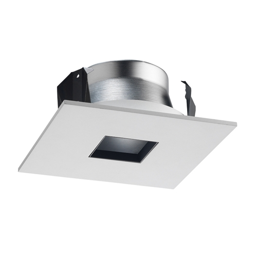 Juno Recessed Lighting 13sq Wh 4 Line Voltage Led And Fluorescent Square Downlight Pinhole Trim White