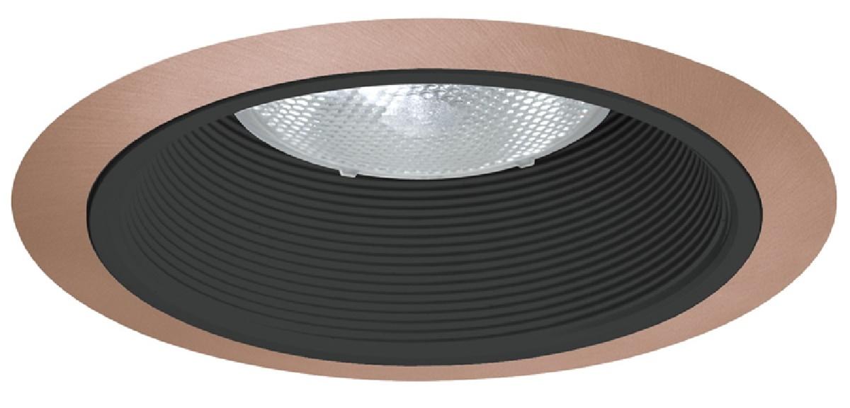 Juno Recessed Lighting 24b Abz 24 Babz 6 Led Line Voltage Tapered Baffle Trim Black
