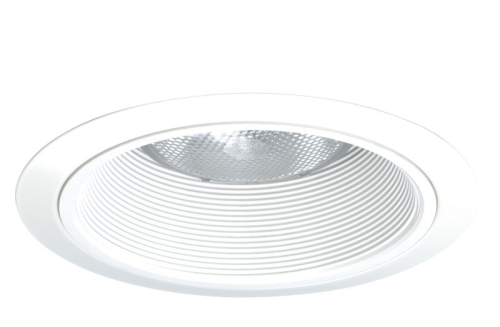 Juno Recessed Lighting 24w Wh 24 Wwh 6 Led Line Voltage Tapered Baffle Trim White