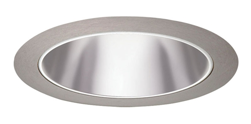 Juno Recessed Lighting 27pt Sc 27 Ptsc 6 Led Line Voltage Tapered Cone Trim Pewter Reflector