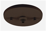 Juno Track Lighting 902QJ-BRZ (902 QJ BZ) Flat Quick Jack MonoPoint for use with Remote Transformers, Bronze Finish