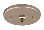 Juno Track Lighting 902QJ-STN (902 QJ STN) Flat Quick Jack MonoPoint for use with Remote Transformers, Satin Nickel Finish