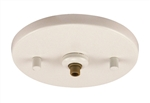 Juno Track Lighting 902QJ-WHT (902 QJ WH) Flat Quick Jack MonoPoint for use with Remote Transformers, White Finish