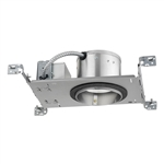 "Juno IC20LED G4 14LM 35K 90CRI MVOLT EZ1 Recessed Lighting 5"" LED New Construction IC Type Housing 1400 Lumens, 3500K Color Temperature, Universal Driver 120-277V, eldoLED 0-10V, 1% Dim"
