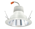 "Juno Recessed Lighting J6RLG3-41K-6-CLW 6"" Retrofit LED Downlight Trim Module 600 Lumens, 4100K Color Temperature, Clear Cone, Less Medium Base Socket Adapter"