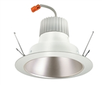 "Juno Recessed Lighting J6RLG3-41K-6-HZW 6"" Retrofit LED Downlight Trim Module 600 Lumens, 4100K Color Temperature, Haze Cone, Less Medium Base Socket Adapter"