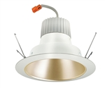 "Juno Recessed Lighting J6RLG3-41K-6-WZW 6"" Retrofit LED Downlight Trim Module 600 Lumens, 4100K Color Temperature, Wheat Haze Cone, Less Medium Base Socket Adapter"