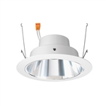"Juno Recessed Lighting J6RLG4-35K-9-CLW 6"" Gen 4 Retrofit LED Downlight Trim Module 900 Lumens, 3500K color Temperature, Clear Cone, White Trim, Less Medium Base Socket Adapter"