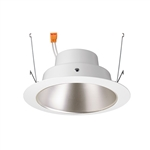 "Juno Recessed Lighting J6RLG4-3K-9-HZW 6"" Gen 4 Retrofit LED Downlight Trim Module 900 Lumens, 3000K color Temperature, Haze Cone, White Trim, Less Medium Base Socket Adapter"
