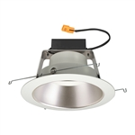 "Juno Recessed Lighting J6RLWDG4N-3K-6-HZW 6"" IC WarmDim LED Retrofit Downlight Trim Module 600 Lumens, 3000K Color Temperature, Haze Cone, White Trim, Less Medium Base Socket Adapter"